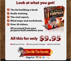 List Building Formula