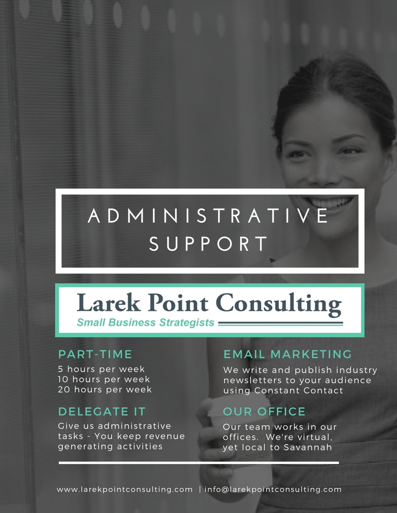 Larek Point Consulting - Back Office Administrative Support