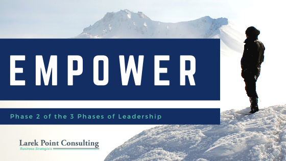 larek point consulting leadership cycle empower