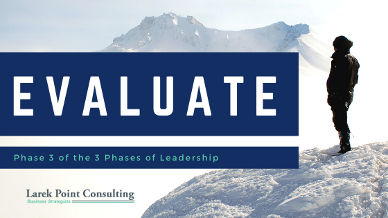 larek point consulting leadership phase 3 evaluate