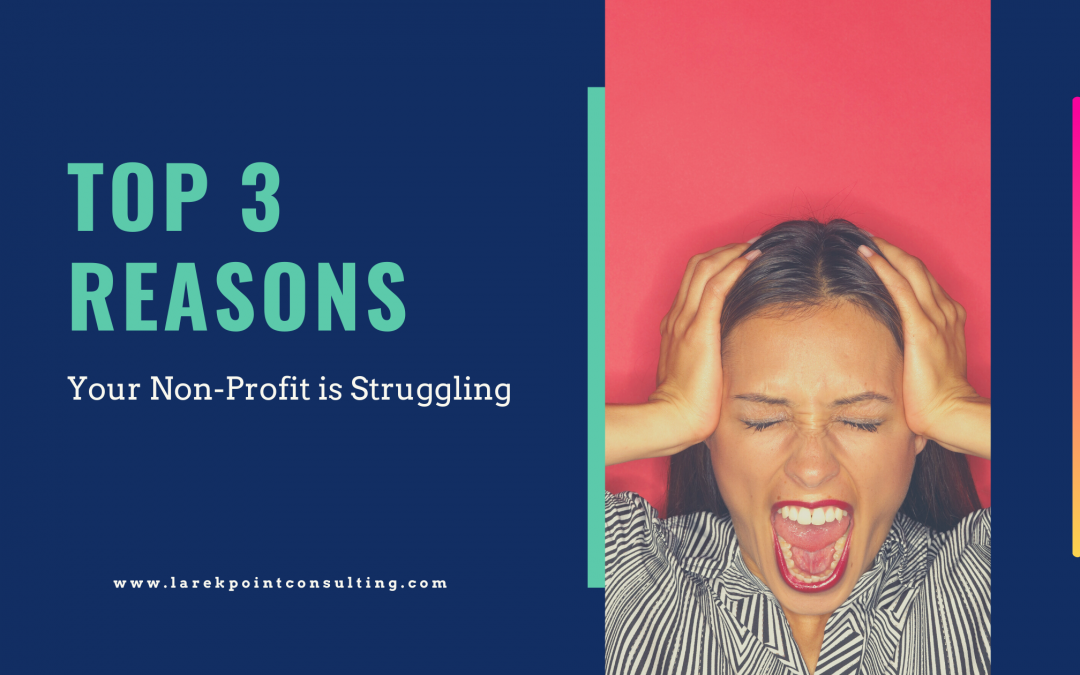 Top 3 Reasons a Non-Profit Struggles